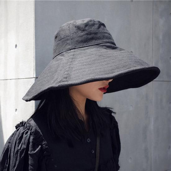[당일발송][50% SALE] 솔리드 플로피 모자[HT#056]