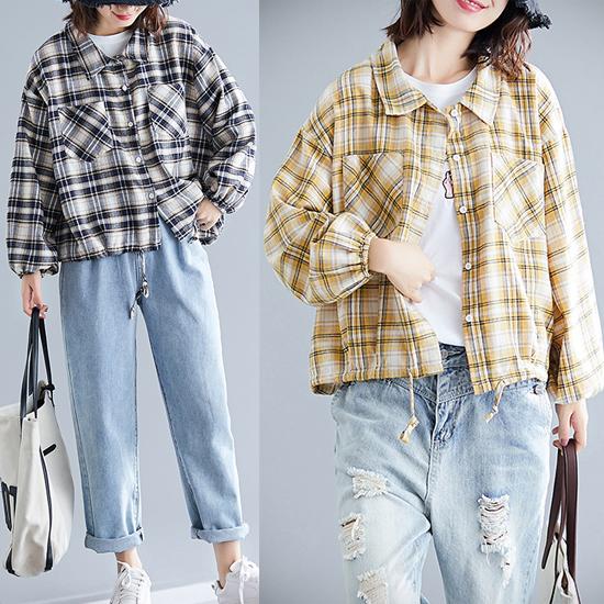 [가을신상 무료배송] 체크 자켓 스타일 셔츠[SI#966]
