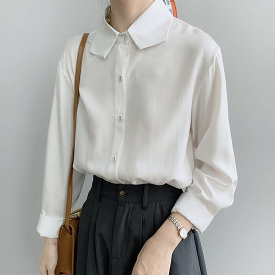 [당일발송]유니크 카라 셔츠[SI#976]