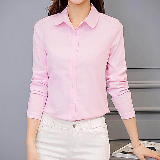 [7% SALE] 둥근카라 기본 셔츠[SI#819]