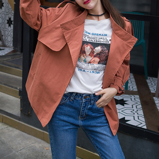 [70%SALE 특가] 마랑 스타일 트렌치 자켓[JK#890]